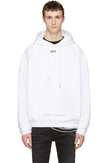 Off-White - White 'Off' Hoodie