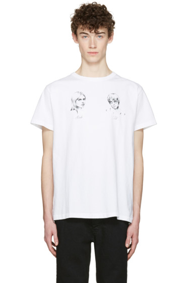 Off-White - White 'Till Death' T-Shirt