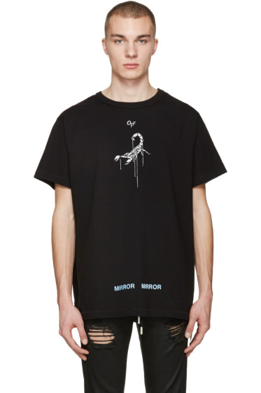 Off-White - Black Othelo's Scorpion T-Shirt