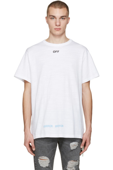 Off-White - White Care 'Off' T-Shirt