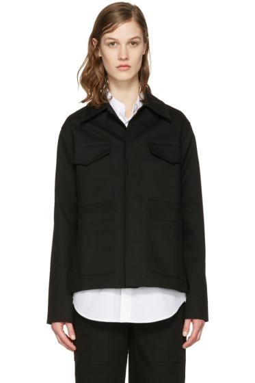 Studio Nicholson - Black Twill Nero Jacket