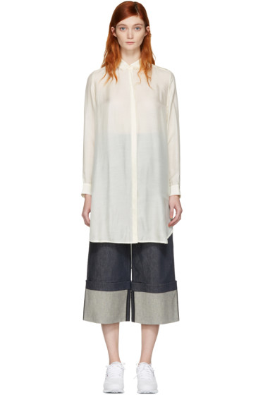 Won Hundred - Ivory Kelsey New 1 Long Shirt