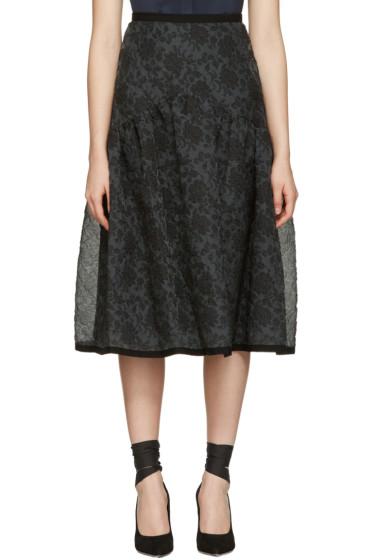 Erdem - Black Malia Skirt