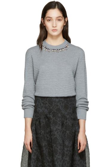 Erdem - Grey Lana Pullover