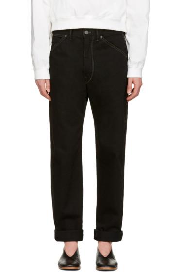 Lemaire - Black Slim Jeans