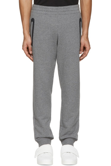 Versace Underwear - Grey Mesh-Trimmed Lounge Pants