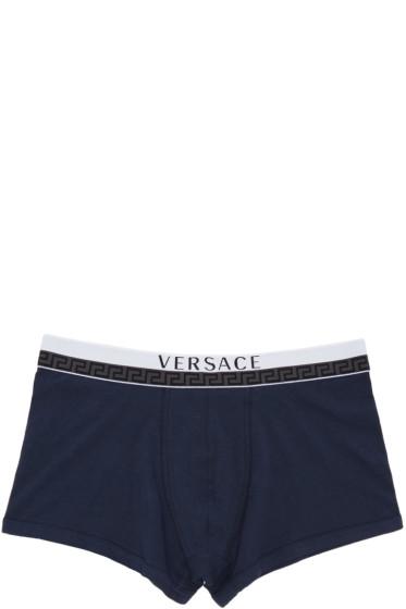 Versace Underwear - Navy Boxer Briefs