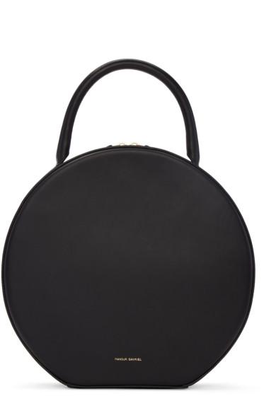 Mansur Gavriel - Black Leather Circle Bag