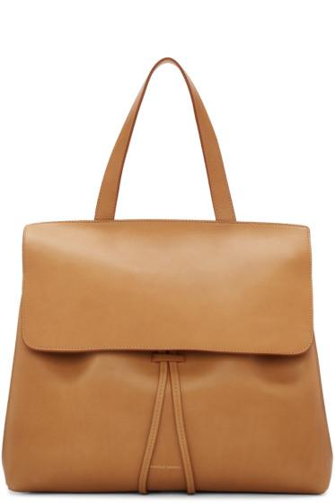 Mansur Gavriel - Tan Leather Lady Bag