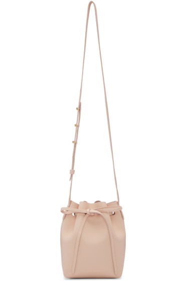 Mansur Gavriel - Pink Leather Mini Mini Bucket Bag
