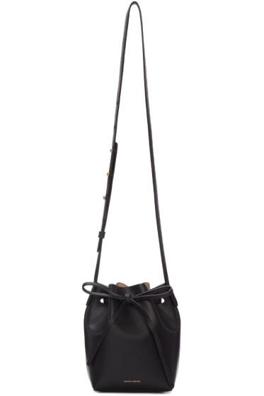 Mansur Gavriel - Black Leather Mini Mini Bucket Bag