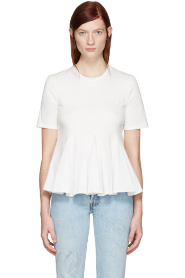 Edit - White Godet T-Shirt