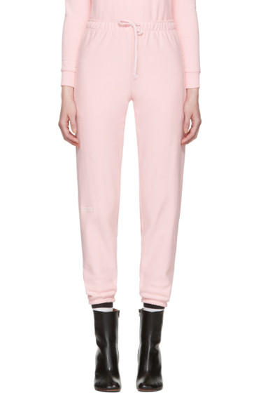 Vetements - Pink Champion Edition Knee Shape Lounge Pants