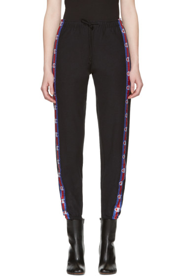 Vetements - Black Champion Edition Knee Shape Lounge Pants