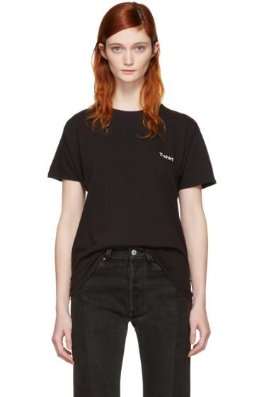 Vetements - Black Hanes Edition Entry Level T-Shirt