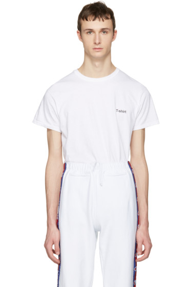 Vetements - White Hanes Edition Entry Level T-Shirt