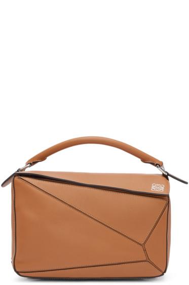 Loewe - Tan Puzzle Bag