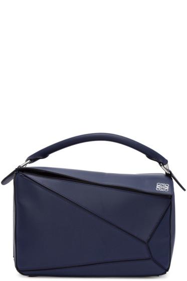 Loewe - Navy Puzzle Bag