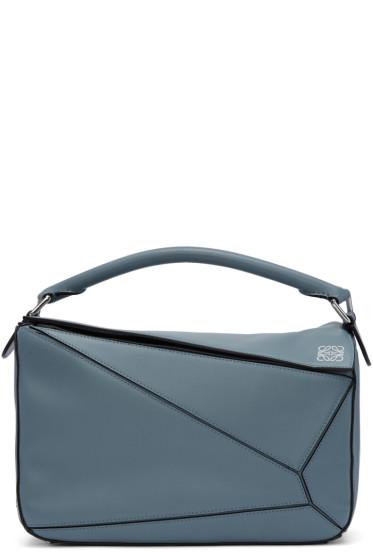 Loewe - Blue Puzzle Bag