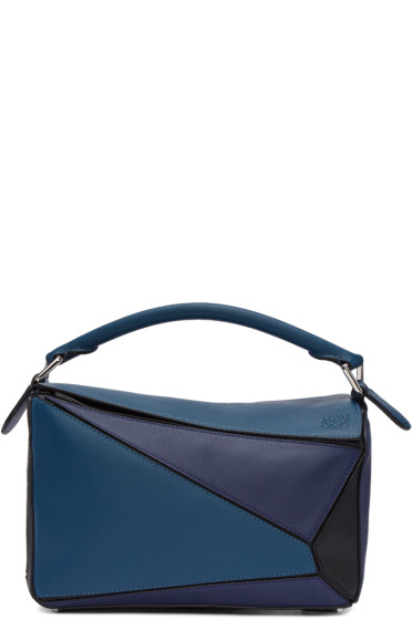 Loewe - Tricolor Small Puzzle Bag