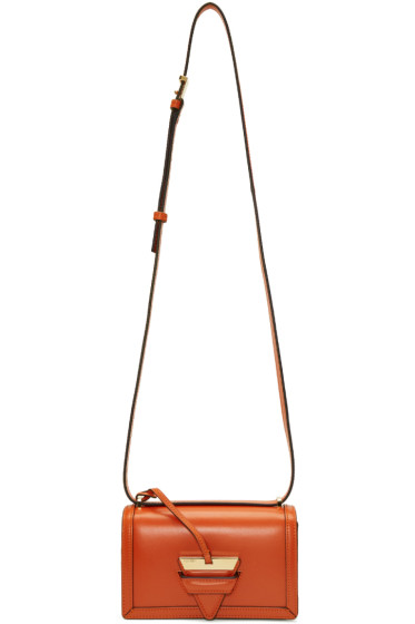 Loewe - Orange Small Barcelona Bag