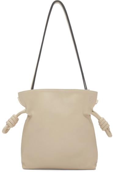 Loewe - Beige Small Flamenco Knot Bag