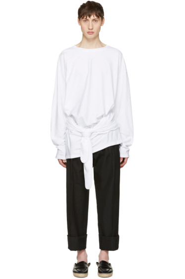 Loewe - White Tied Layer T-Shirt