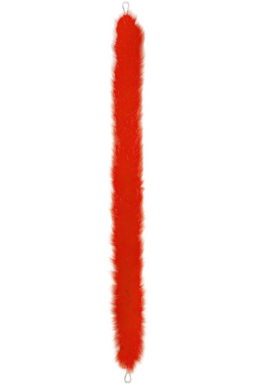 Fendi - Red Fox Fur 'Strap You' Shoulder Strap