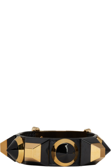 Fendi - Black Rainbow Cuff Bracelet
