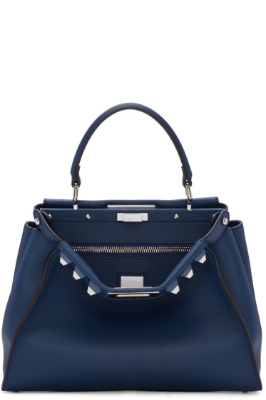 Fendi - Blue Peekaboo Bag