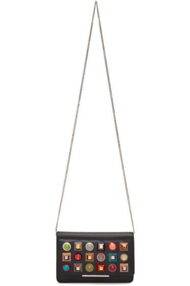 Fendi - Black Rainbow Tube Wallet Bag