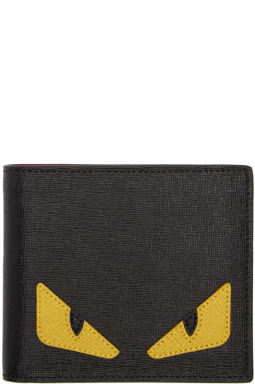 Fendi - Black 'Bag Bug' Wallet