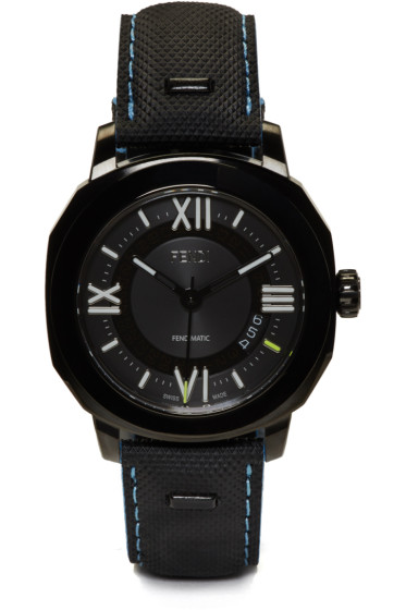 Fendi - Black Selleria Watch