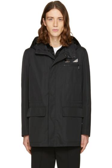 Fendi - Black Bag Bugs Hooded Jacket