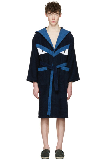 Fendi - Blue Monster Robe