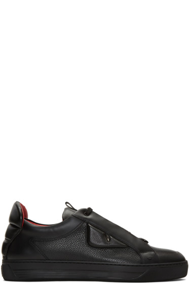 Fendi - Black Bag Bug Sneakers