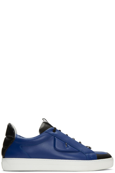 Fendi - Blue Bag Bug Sneakers