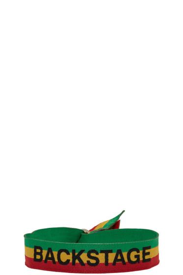 Palm Angels - Multicolor Backstage Bracelet