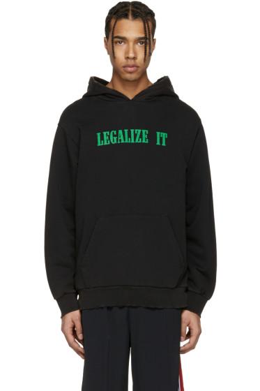 Palm Angels - Black 'Legalize It' Hoodie