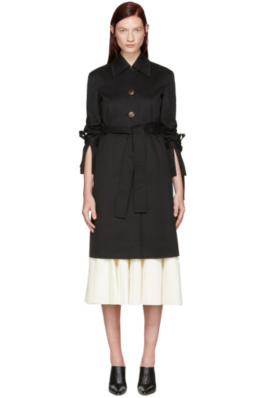 Brock Collection - SSENSE Exclusive Black Caia Coat