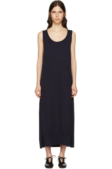 Y's - Navy Long Tank Dress