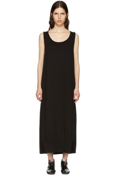 Y's - Black Long Tank Dress