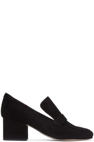 Dorateymur - Black Suede Turbojet Heels