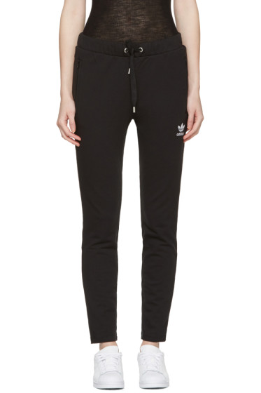 adidas Originals - Black Slim Lounge Pants