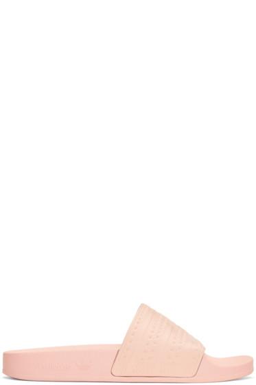 adidas Originals - Pink Adilette Slide Sandals
