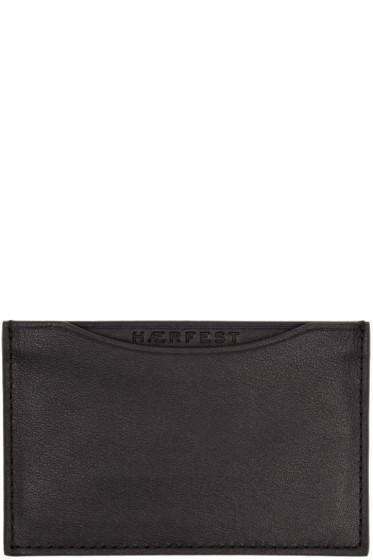 Haerfest - Black H39 Card Holder
