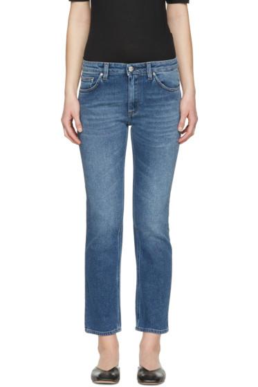 Totême - Blue Straight Jeans