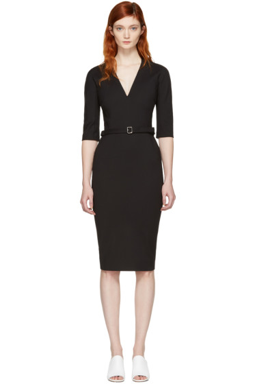 Victoria Beckham - Black Belted Dress
