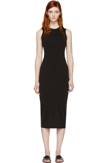 Victoria Beckham - Black Ribbed Dress