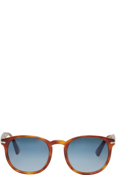 Persol - Tortoiseshell Round Sunglasses